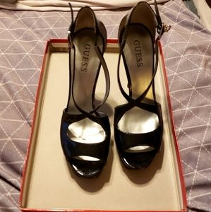 GUESS by Marciano Patent Platform Heels - 6.5